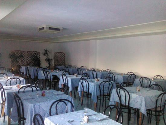 Hotel Parco Cartaromana : La Salle à Manger