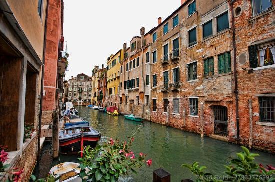 Alla Vite Dorata: Canal view