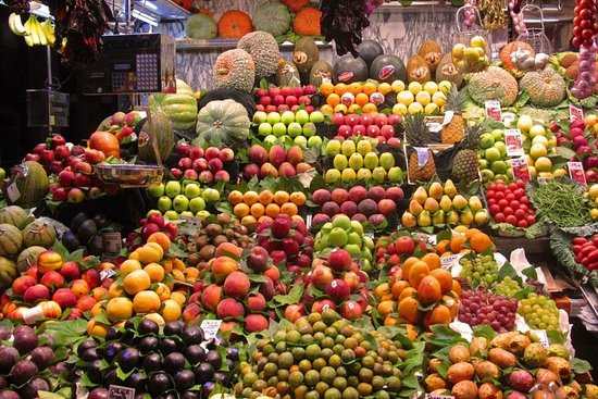 Taste Barcelona  Walking Tours : Mediterranean markets and fresh produce