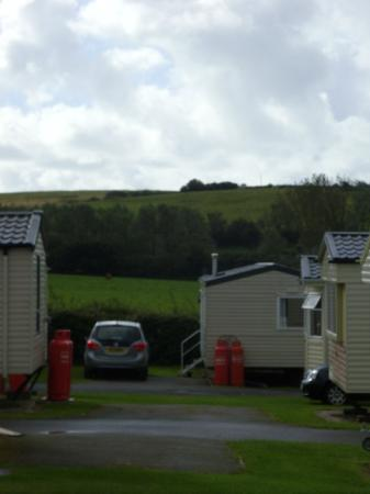 Seaview Holiday Park - Haven: view from second bedroom