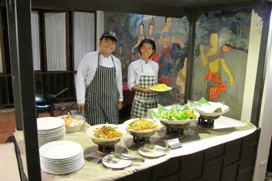 ฮอลิเดย์อินน์ รีสอร์ท พีพี ไอส์แลนด์: Fresh and fantastic food