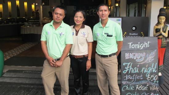 Holiday Inn Resort Phi Phi Island : Friendly Staff
