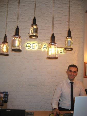 ODDA Hotel: Alladin - Hotel Reception