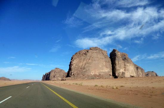Tabouk Province, Saudi Arabia: Road trip to Tabouk airport