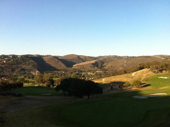 Carmel Valley Ranch: View from deck