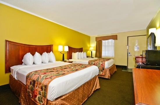 BEST WESTERN Franklin Inn: Guest room with two beds