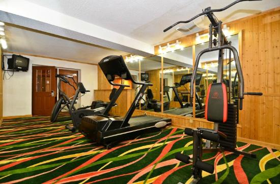 BEST WESTERN Franklin Inn: Fitness center