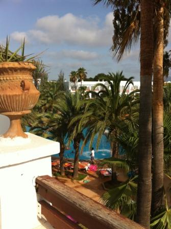 Cala d'Or Gardens: from balcony