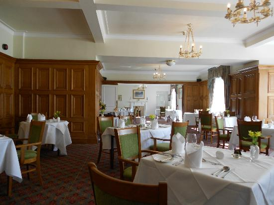 Dining Room at Park Hotel, Peebles