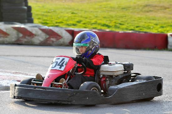 Lakeside Karting: Stevee