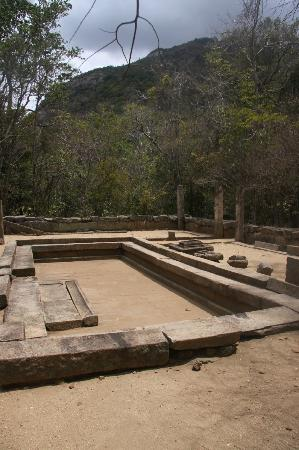 Ritigala Forest Monastery : dinning area