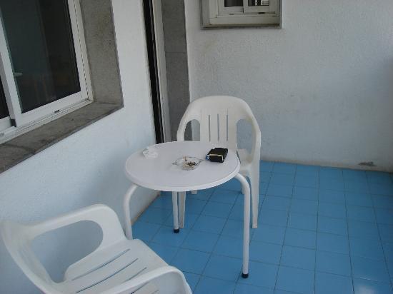 Apartamentos Europa: balcony area