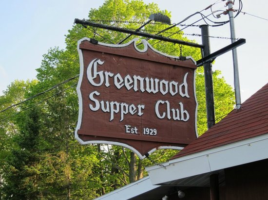 Greenwood Supper Club: Fish Creek Wisconsin