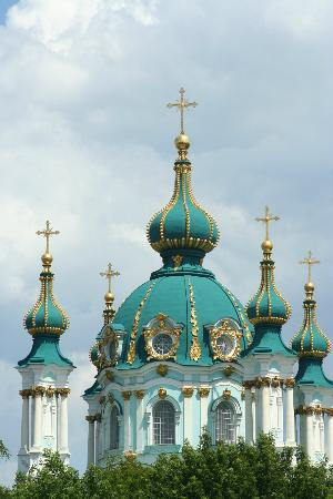 Kiev, Ucraina: St. Andrew's Church