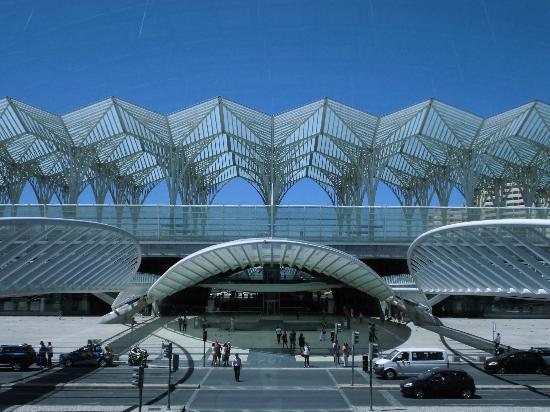 Parque das Nacoes: Stazione Oriente di Calatrava