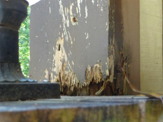 Kinston Manor By Evrentals: ROTTEN WOOD ON EXTERIOR