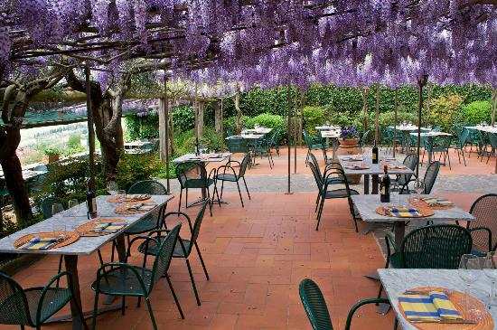 Il giardino con il glicine infiore picture of ristorante for Oltre il giardino