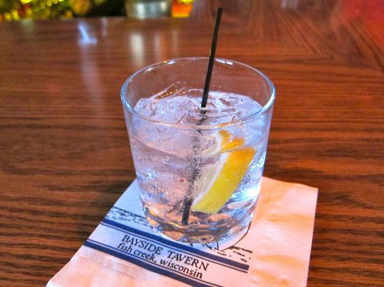 Bayside Tavern: They have beer - but they make a great Gin and Tonic