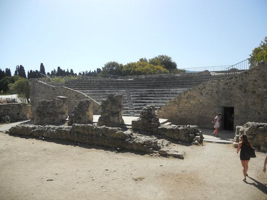 ‪Roman Odeon of Kos‬