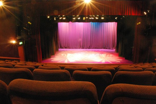 Auditorium at Backstage Theatre, Longford