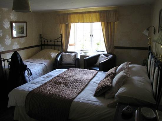 High Wray Farm : our bedroom