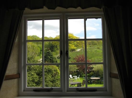 High Wray Farm: view from our bedroom