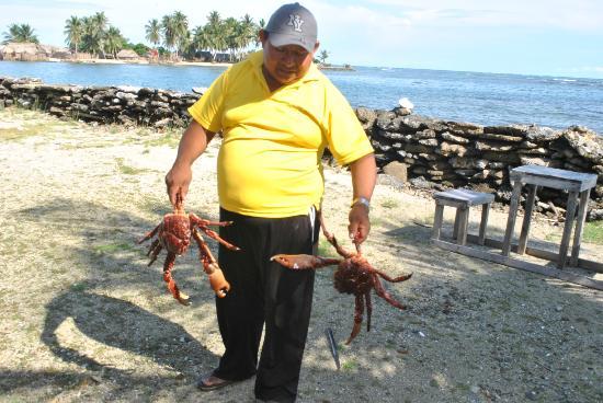 Dolphin Lodge Uaguinega: el almuerzo llegando