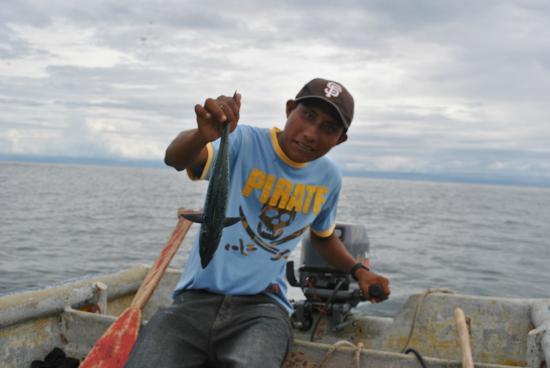 Dolphin Lodge Uaguinega: de pesca
