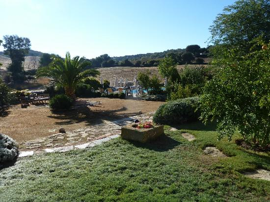 Cortijo Las Piletas: View from our room