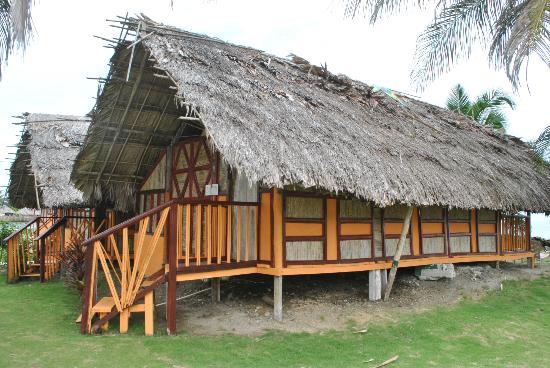 Dolphin Lodge Uaguinega: vista lateral