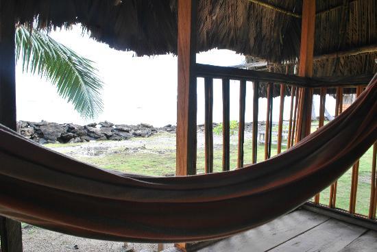 Dolphin Lodge Uaguinega: desde el balcón