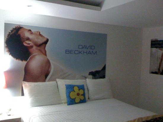 Mayafair Design Hotel: dreaming beckham
