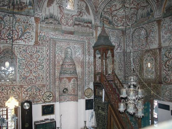 Et`hem Bey Mosque: Ethem Bey, interno