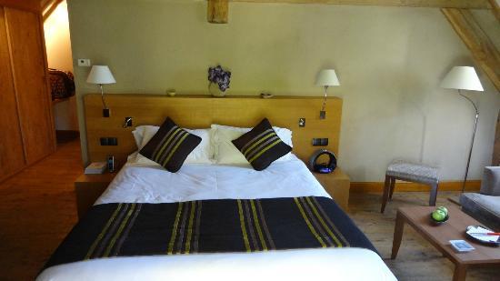 Relais & Chateaux - Hostellerie de Levernois: la junior suite