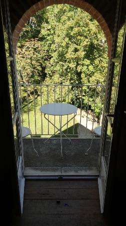 Relais & Chateaux - Hostellerie de Levernois: le balcon de la junior suite