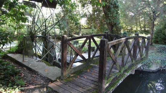 Relais & Chateaux - Hostellerie de Levernois: dans le parc