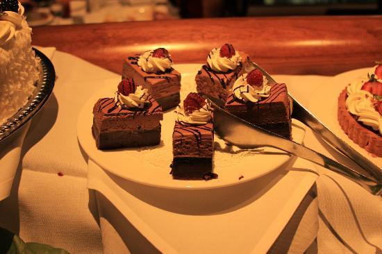 Dessert The Roof Restaurant Salt Lake City Ut Picture Of