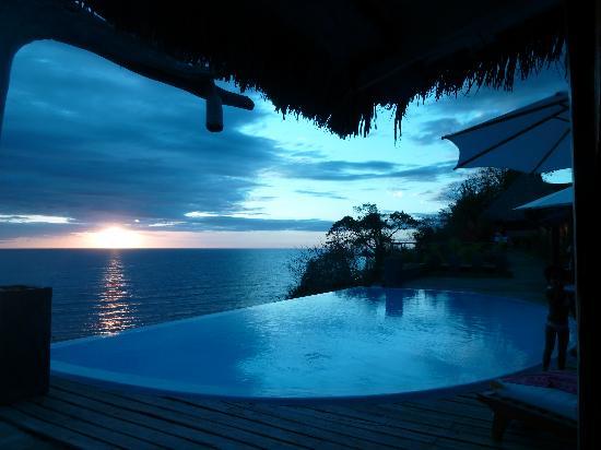 Domaine d'Eden de Nosy Be: coucher de soleil