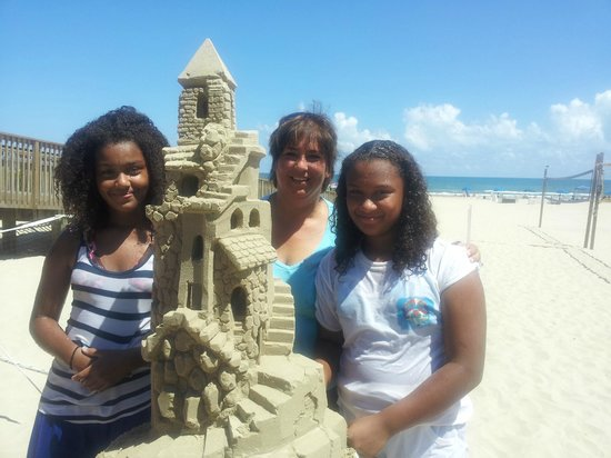 Sandcastle Lessons: The boomerang belles in training!