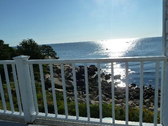 The Quarterdeck Inn by the Sea: Ocean view from deck
