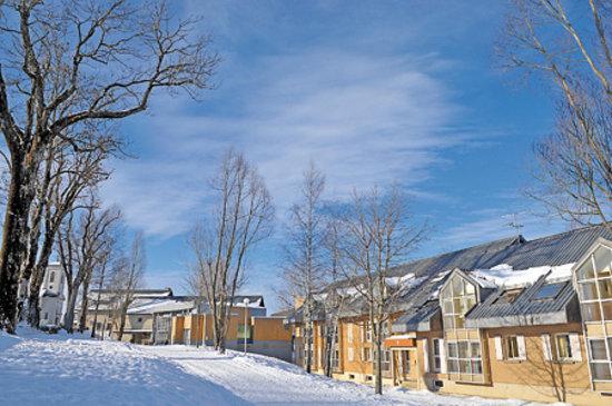 """Village Vacances VTF """"Le Bief Rouge"""": vue hiver"""