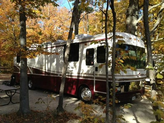 "Our rig ""Maxine"" at Egg Harbor Campground"