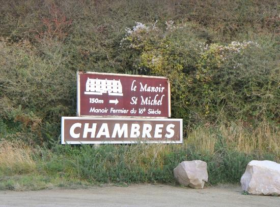 Hotel le Manoir Saint Michel : Directionally a great choice