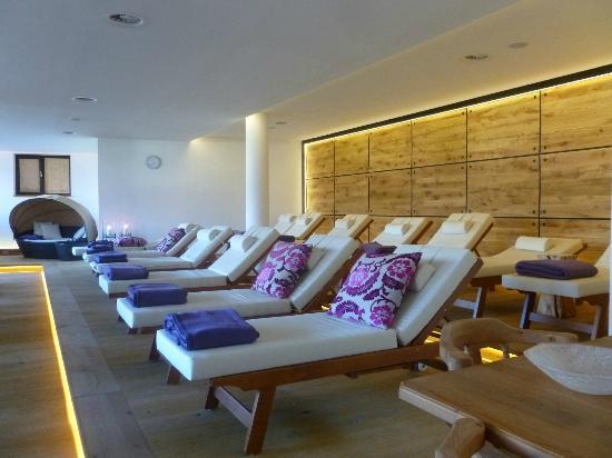 Hotel Quellenhof: salle de repos au Spa