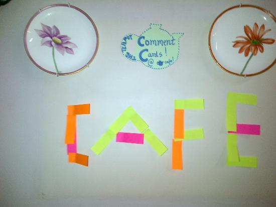 The Teapot Cafe : Wall