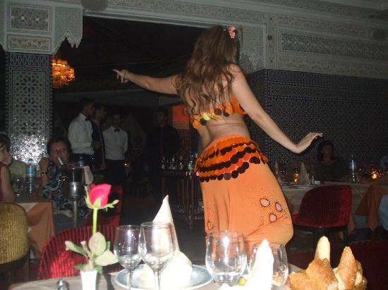 Basmane: the 3rd Belly Dancer performing in Basman