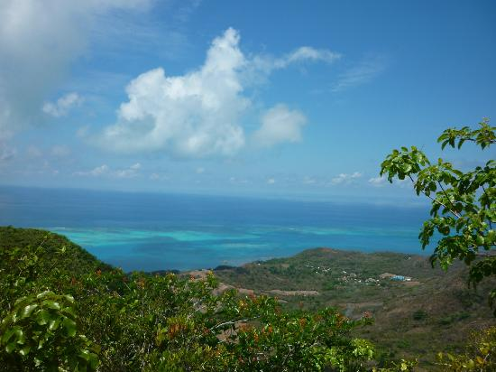 San Andres and Providencia Department, โคลอมเบีย: Vista desde el pico