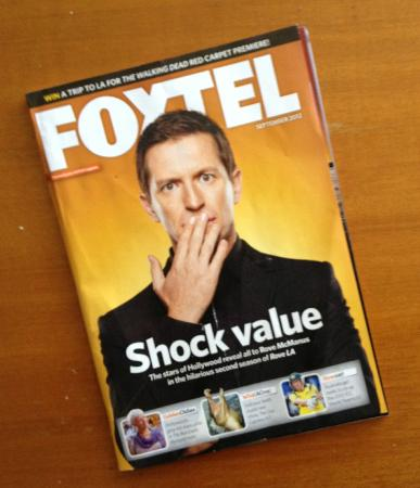 San Mateo Apartments Gold Coast: At least we had the Foxtel magazine so we knew what we were missing.