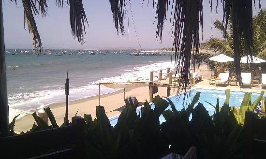 Hotel Grand Mare & Bungalows: Vista Restaurante