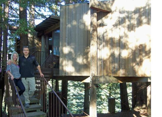 Post Ranch Inn: The Burns treehouse we stayed in.